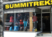 Summitreks outdoor clothing and equipment shops